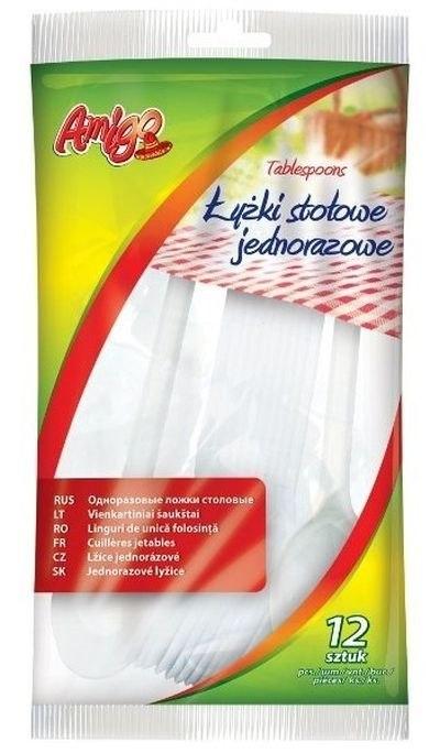 ŽLICE JEDNOKRATNE PLASTIKA 12kom AMIGO